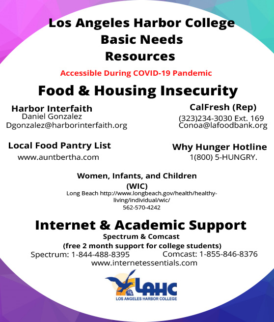 basic needs flyer