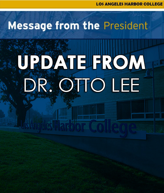 message from the LAHC PRESIDENT dr otto lee