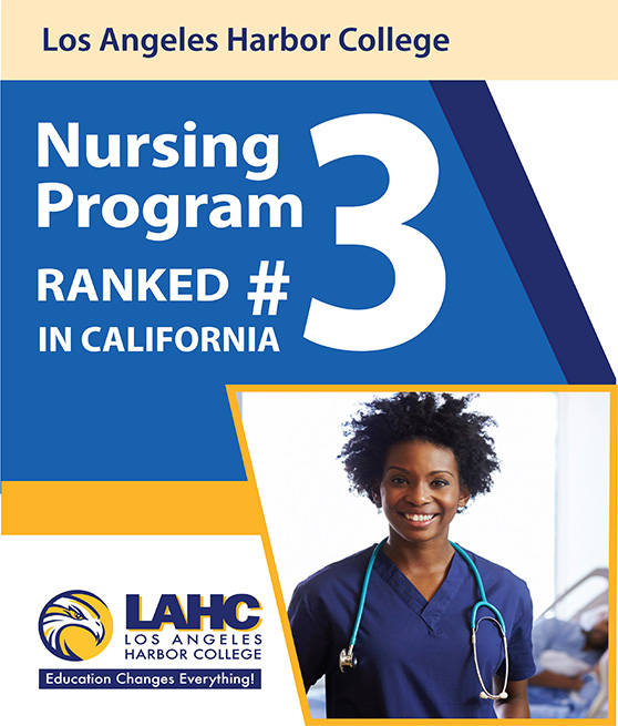 lahc top ranked nursing number 5 flyer graphic
