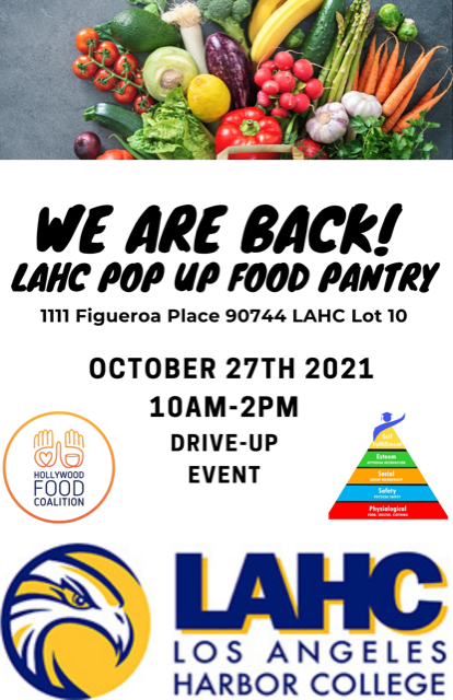 pop up food pantry flyer graphic