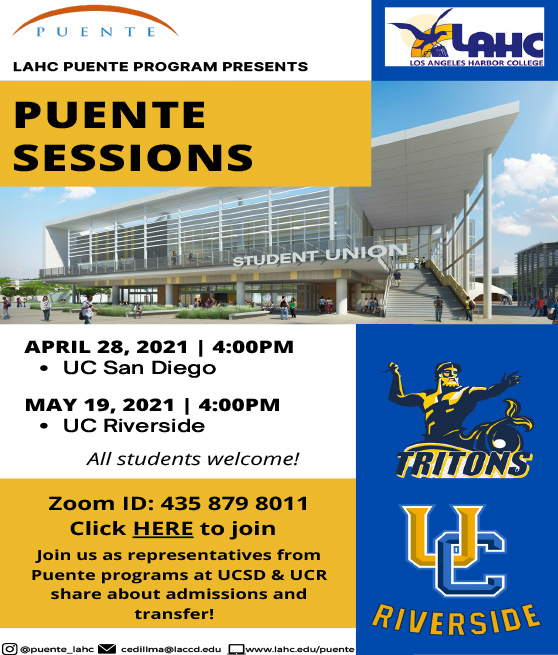 puente sessions ucr and ucsd flyer graphic