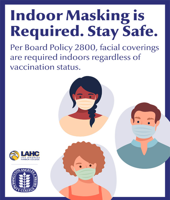 stay safe masking flyer graphic