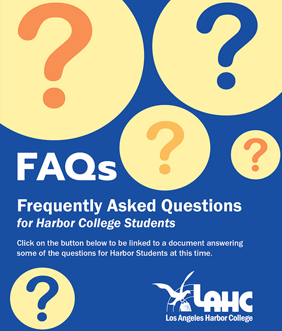 FAQs flyer for students