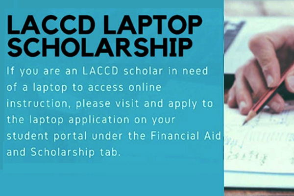 laccd laptop scholarship information